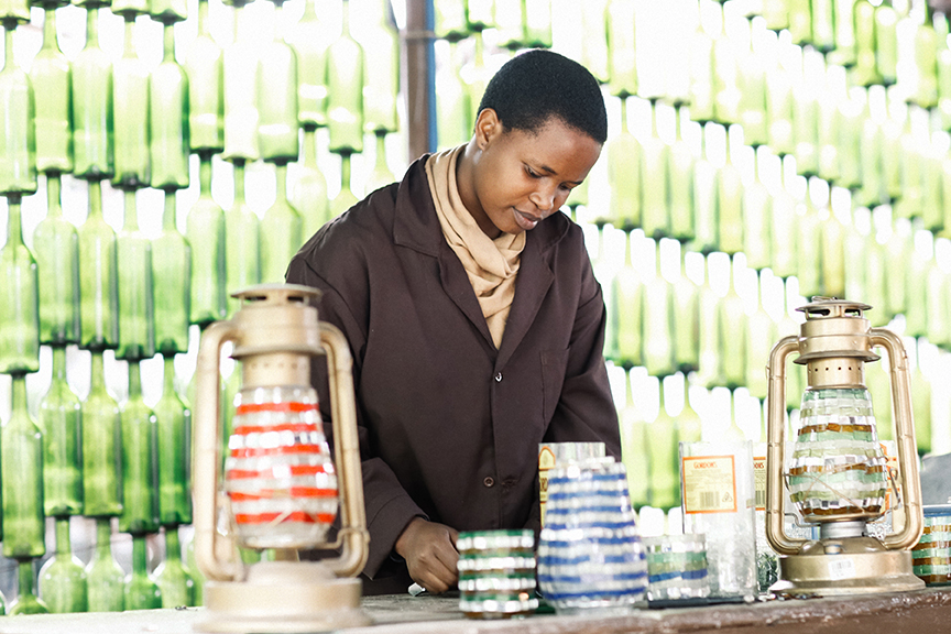 Sostenibilidad y diseño se dan la mano en Africa..¿todavía no eres sostenible?